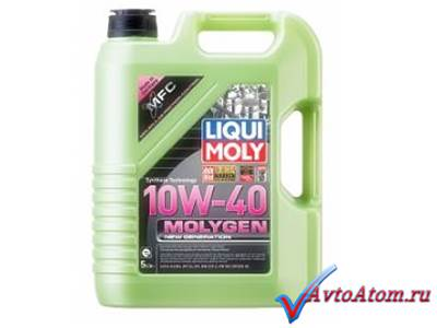 Масло Molygen New Generation 10W-40, 5 литров