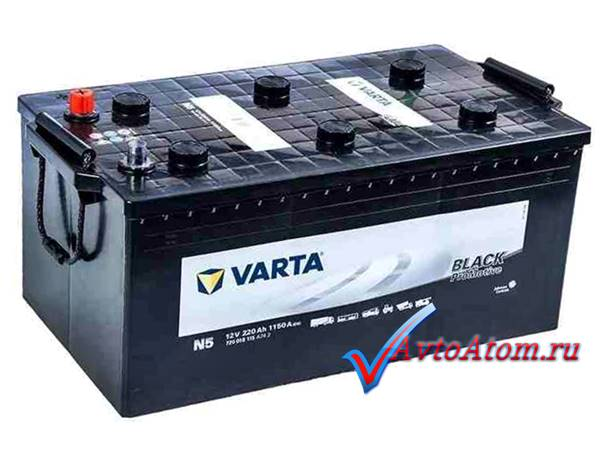 Аккумулятор VARTA 220 Ah Promotive Black