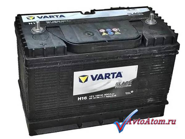 Аккумулятор VARTA 105 Ah Promotive Black