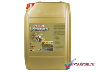Castrol VECTON Fuel Saver 5W-30 E6/Е9,  20 литров