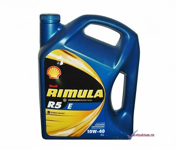 Моторное масло Shell Rimula R5 4л