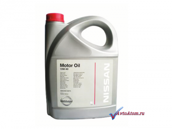 Моторное масло Nissan 10W40