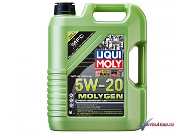Масло Molygen New Generation 5W-20