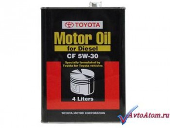 Автомасло Тойота (Toyota) Motor Oil for Diesel 5W-30