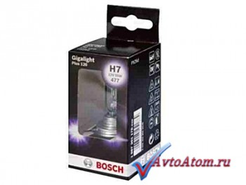 Лампа H7 12V Bosch Gigalight Plus 120