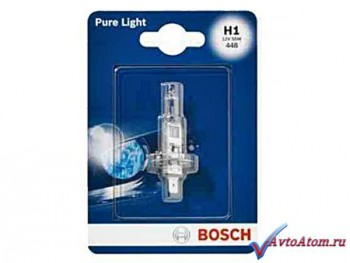 Лампа H1 12V BOSCH Pure Light
