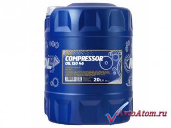 MANNOL Compressor Oil ISO 46, 20 литров