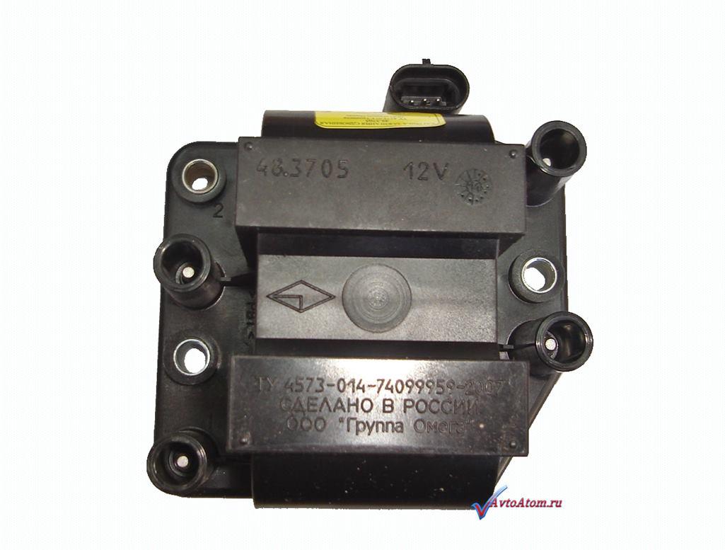схема катушки зажигания двигателя 4216
