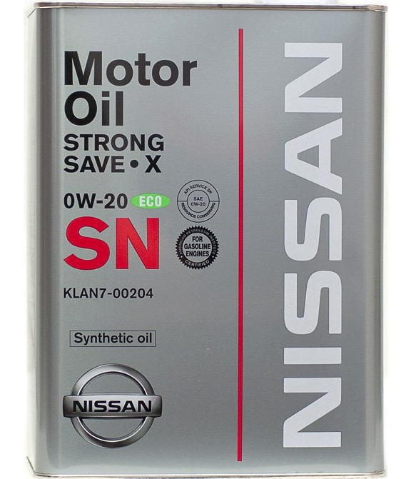Nissan SN Extra Save X SAE 0W-20 4л